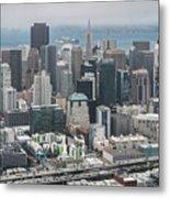 Aerial San Francisco Metal Print