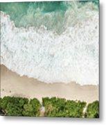 Aerial View Of Anse Intendance - Mahe - Seychelles Metal Print