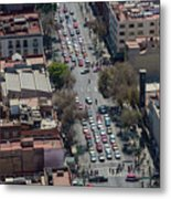 Aerial View Of Mexico Cityscape Metal Print