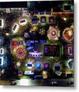 Aerial View Of Norco Fair - Pottstown Pa Metal Print