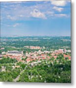 Aerial View Of The Beautiful University Of Colorado Boulder Metal Print