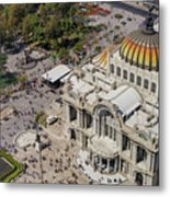 Aerial View Of The Palace Of Fine Arts Metal Print
