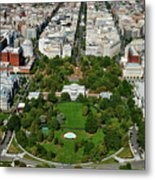 Aerial View Of The White House Metal Print