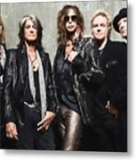 Aerosmith Metal Print