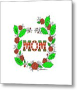 Super Mom Metal Print