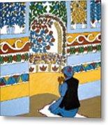 Afghan Mosque Metal Print