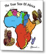 Africa In Perspective Metal Print