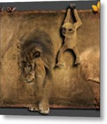 Africa No 02 Metal Print