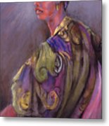 African Beauty Metal Print by Joan  Jones