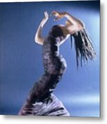 African Dancer Left View Metal Print