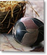 African Easter Egg Metal Print