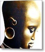 African Lady - Original Artwork Metal Print