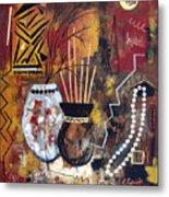 African Perspective Metal Print