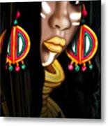 African Princess Metal Print