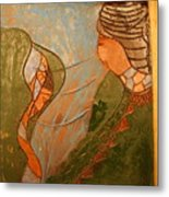 African Respect - Tile Metal Print