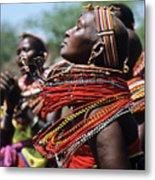 African Rhythm Metal Print