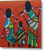African Safari Metal Print