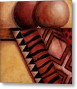 African Touch Metal Print