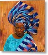 African Woman 5 Metal Print