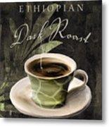 Afrikan Coffees Iv Metal Print