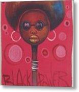 Afro American Women Metal Print