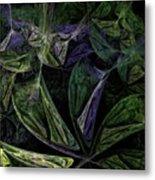Afro-violet Feeling Metal Print