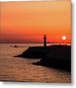 After A Long Day Metal Print