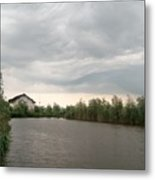 After A Rainy Day In Danube Delta Metal Print