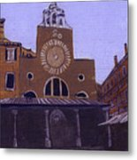 After Campo San Giacometto Metal Print