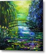 After Monet Metal Print