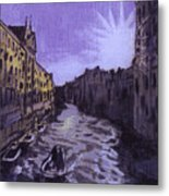 After Rio Dei Mendicanti Looking South Metal Print