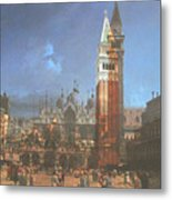 After St. Mark's Square Metal Print
