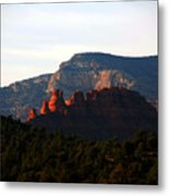 After Sunset In Sedona Metal Print
