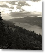 After Sunset On The Columbia Metal Print