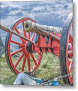 After The Battle Metal Print