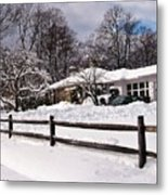 After The Blizzard Metal Print
