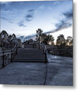 After The Crowds Have Left Metal Print
