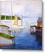 After The Fishing Is Done Metal Print