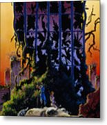 After The Flames Metal Print