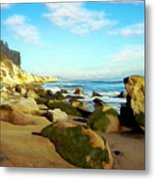 After The Fog Gaviota Metal Print