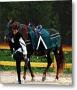 After The Joust Metal Print
