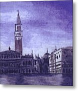After The Pier At San Marco Metal Print