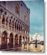 After The Rain At St. Mark's Metal Print