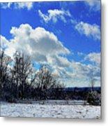 After The Snow Storm Metal Print