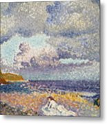 After The Storm The Bather Metal Print
