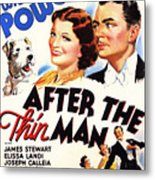 After The Thin Man 1935 Metal Print