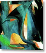 After The War Abstract Metal Print