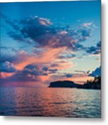 Afterglow On The Lakeshore Metal Print