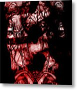 Afterimage Neutral Metal Print