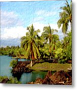 Afternoon At Mauna Lani Hawaii Metal Print
